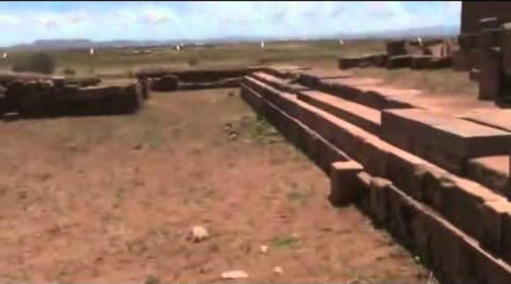 BRIEN FOERSTER on Pumu Punku site Bolivia
