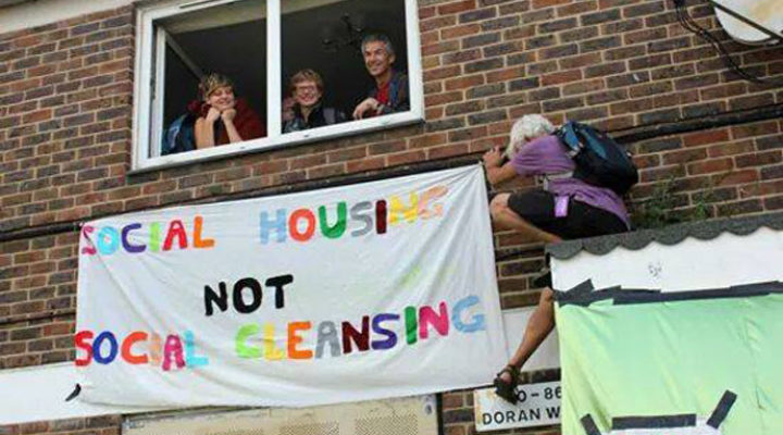 Social Housing Destroyed by Councils