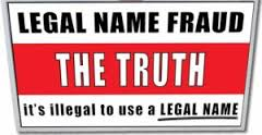 Mark Windows Freeman v Legal name Fraud