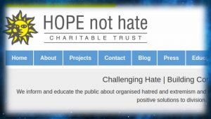 Hope Not Hate Fascism UK