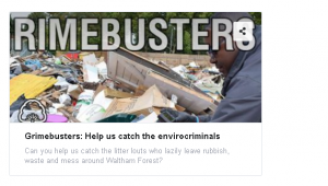 Waltham Forest Council Grimebusters