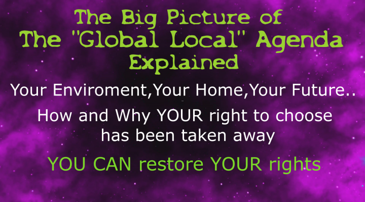 Global Local Agenda Explained